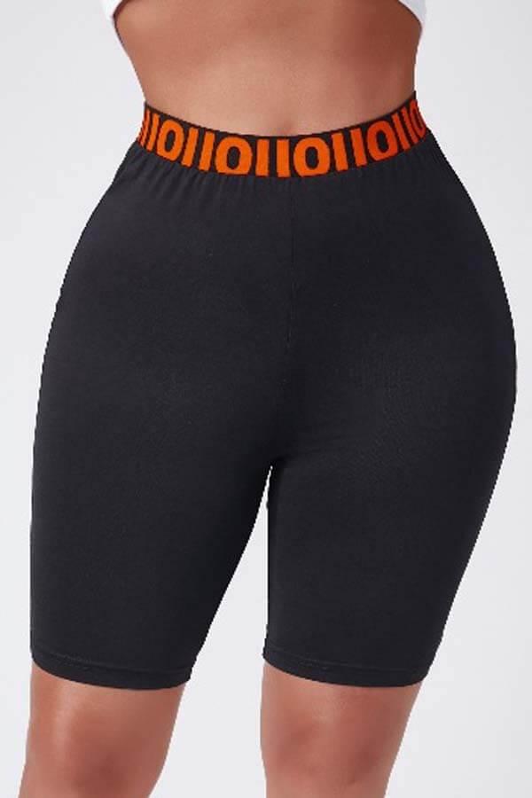 Lovely Sportswear Skinny Black Shorts