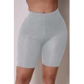 Lovely Sportswear Patchwork Grey Pants