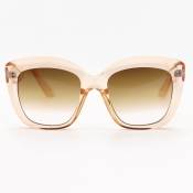 lovely Chic Big Frame Design Yellow Sunglasses