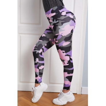 lovely Sportswear Camo Print Pants