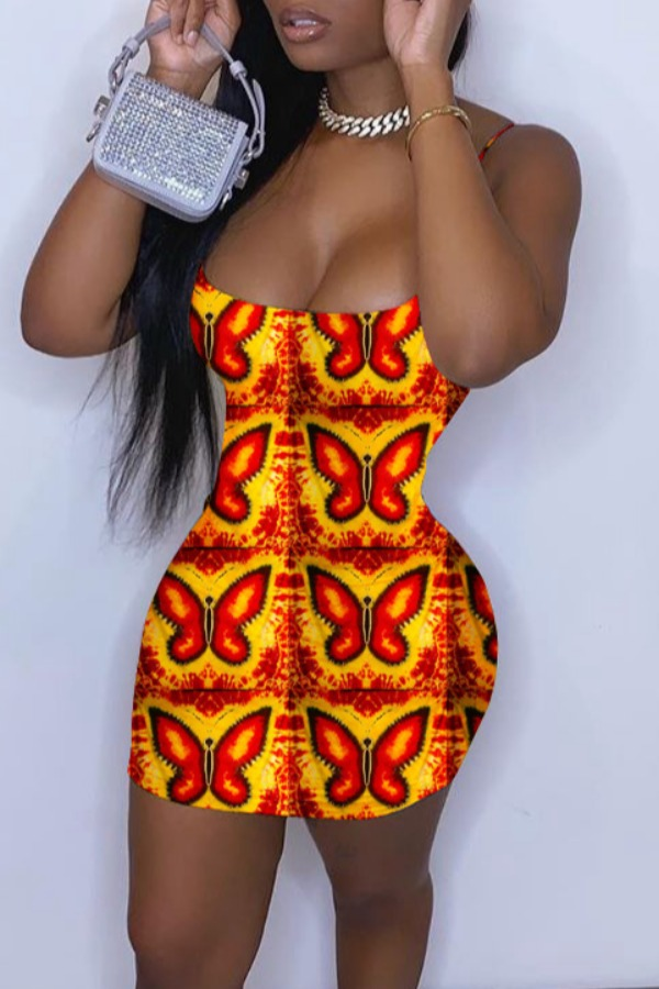 Lovely Trendy Print CrociMini Dress фото