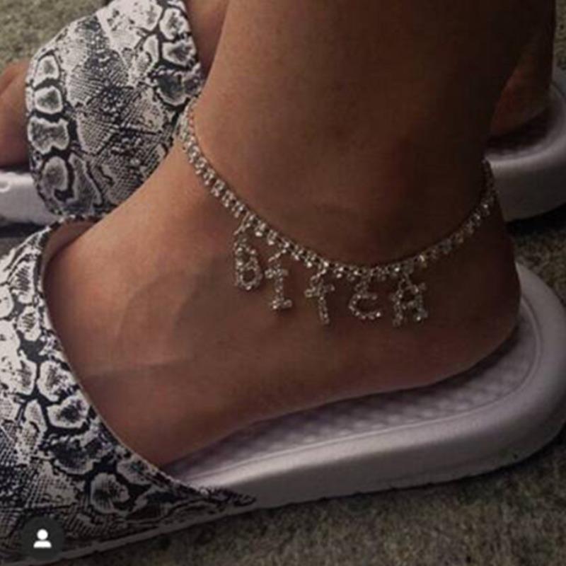 Lovelywholesale coupon: LW Letter Decoration Anklet