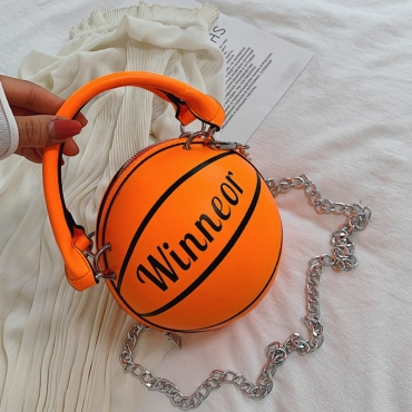 lovely Chic Basketball Croci Crossbody Bag