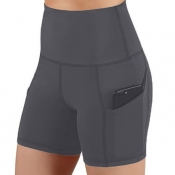 lovely Sportswear Skinny Dark Grey Shorts