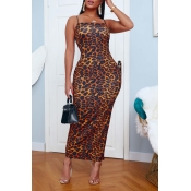 lovely Stylish Print Multicolor Ankle Length Dress