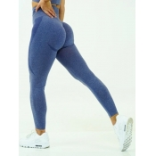lovely Sportswear High-waisted Skinny Blue Pants