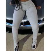 Lovely Casual Skinny Grey Leggings