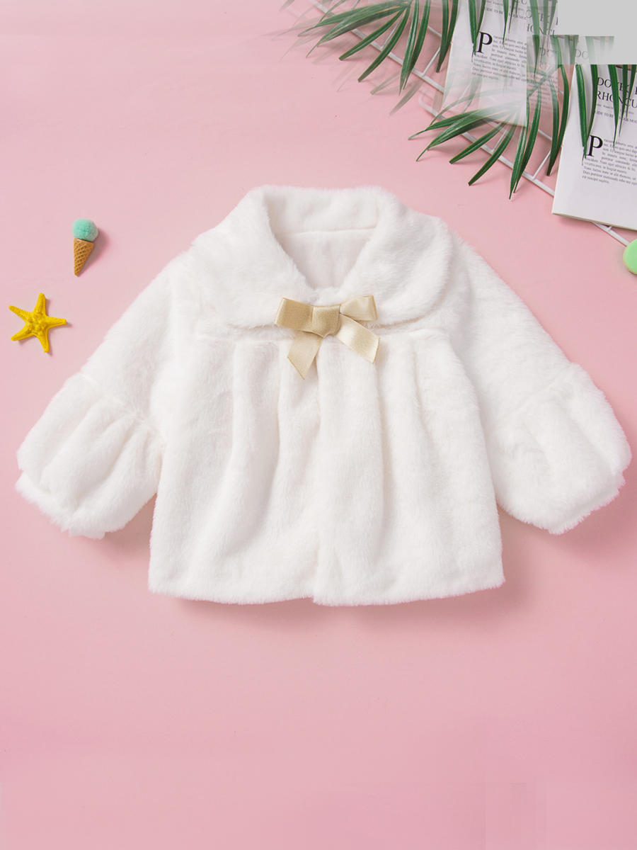 Girls Down&Parkas lovely Casual Turndown Collar Fold Design White Girl Parka фото