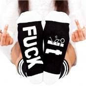 lovely Sportswear Letter White Socks