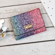 lovely Trendy Sequined Multicolor Coin Purses