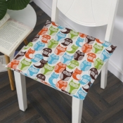 lovely Cosy Print Multicolor Chair Pads
