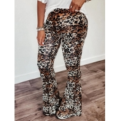 lovely Leisure Leopard Print Skinny Pants