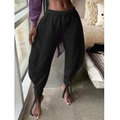 Lovely Street Loose Black Pants