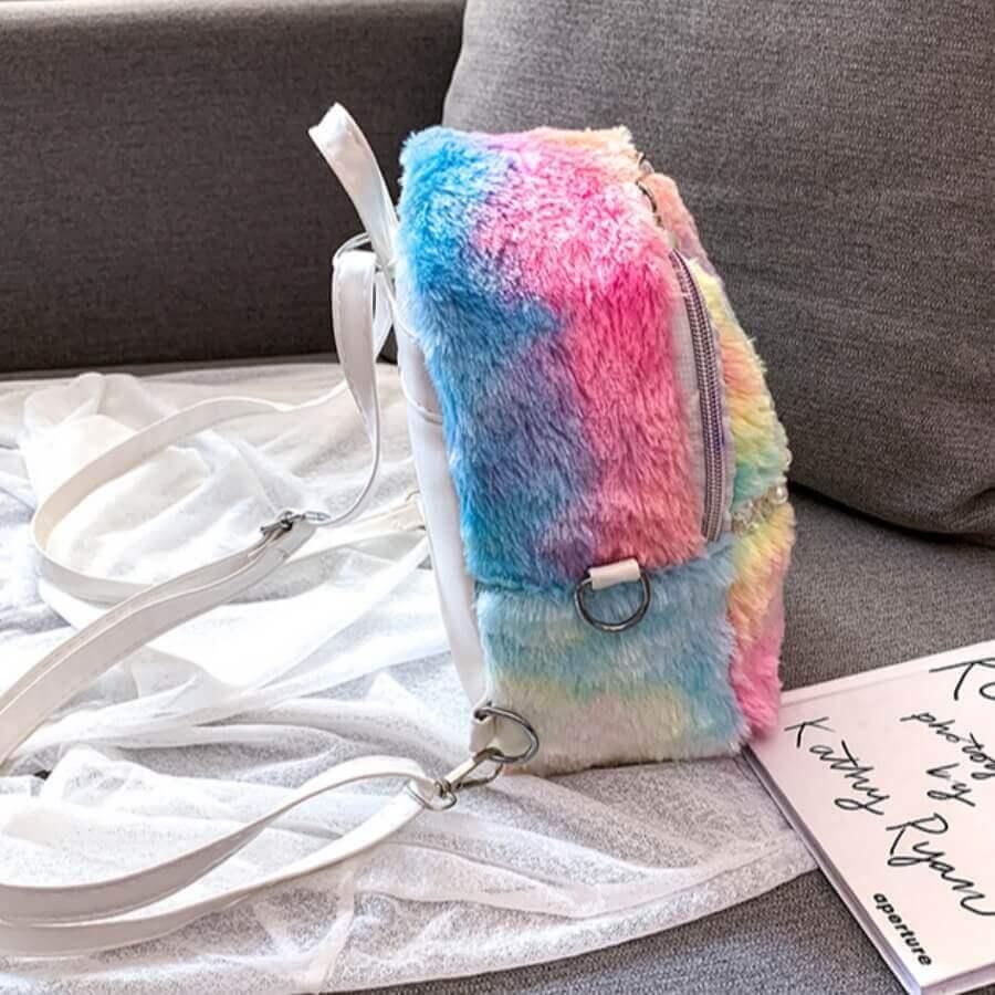 Lovely Stylish Tie-dye Multicolor Backpack