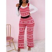Lovely Sweet Christmas Day Geometric Print Patchwo