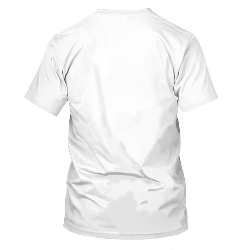 Lovely Girl Casual O Neck Letter Print White T-shirt