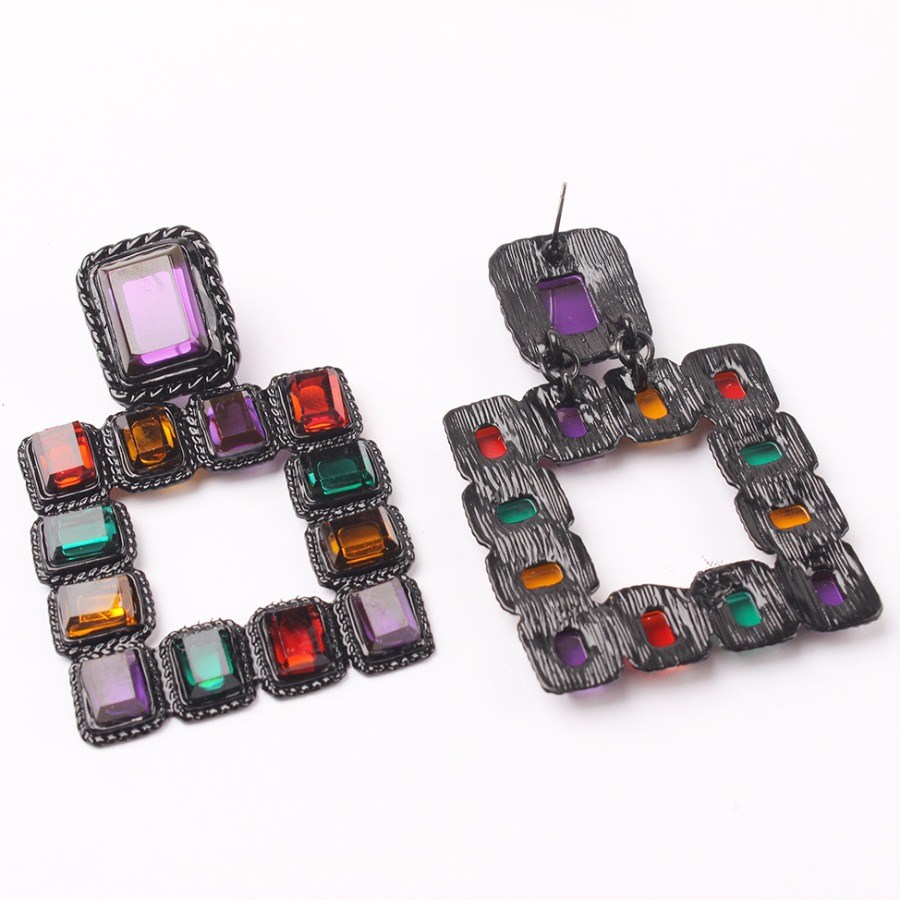 Lovely Street Hollow-out Multicolor Earring