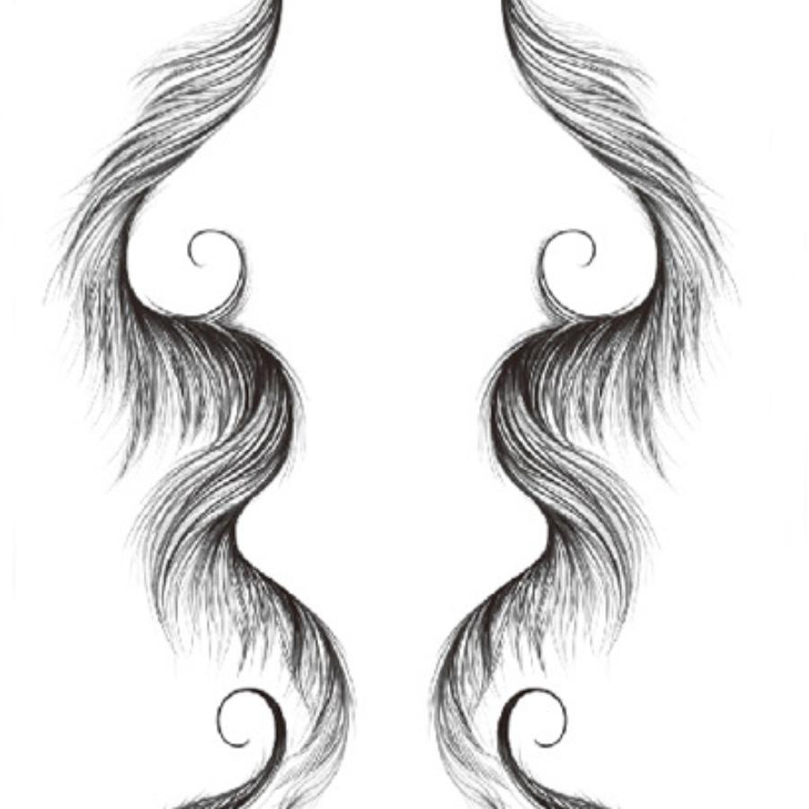 LW Casual Asymmetrical Carbon Black Hair Edge