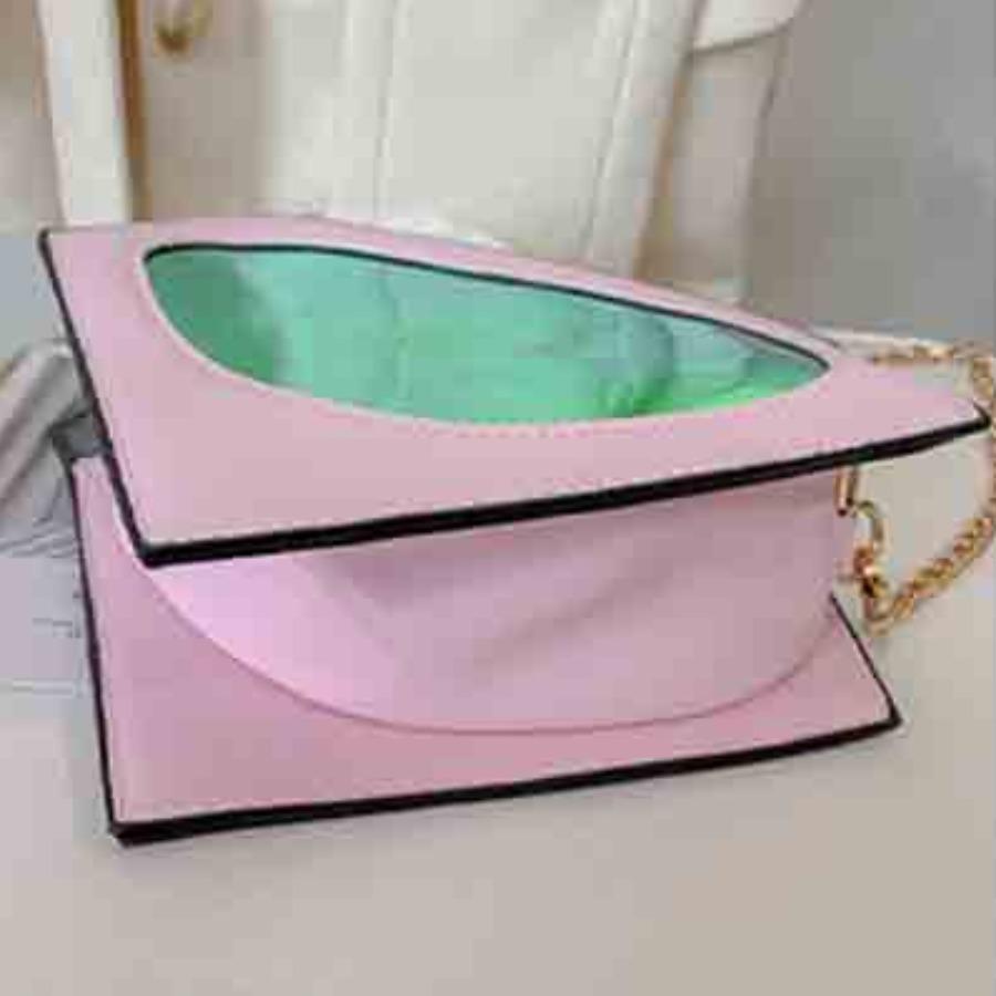 Lovely Street See-through Pink Crossbody Bag
