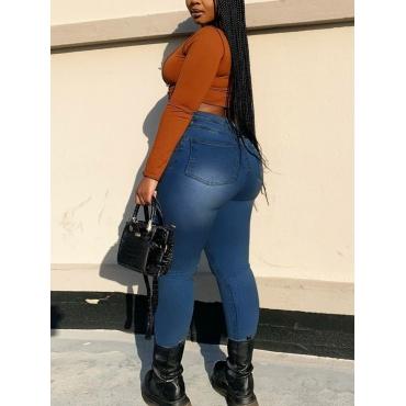 LW BASICS Plus Size High-waisted Skinny Jeans