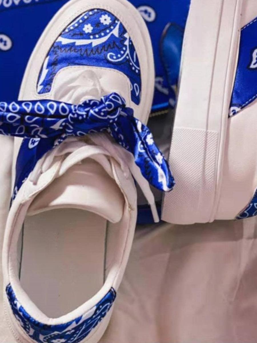 LW Cashew Print Sneakers