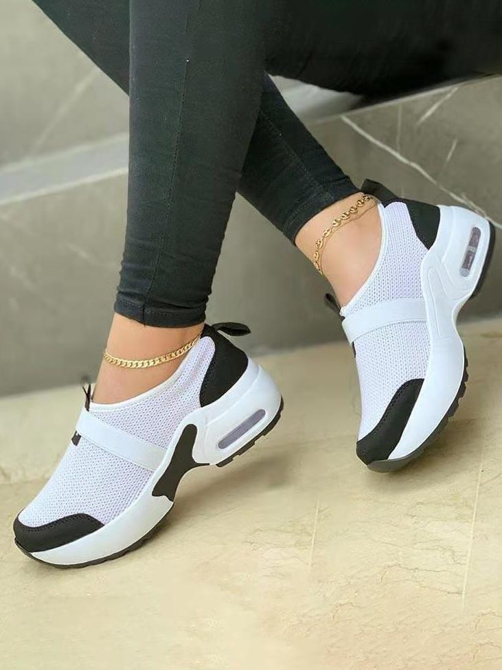 LW Mesh Patchwork Sneakers