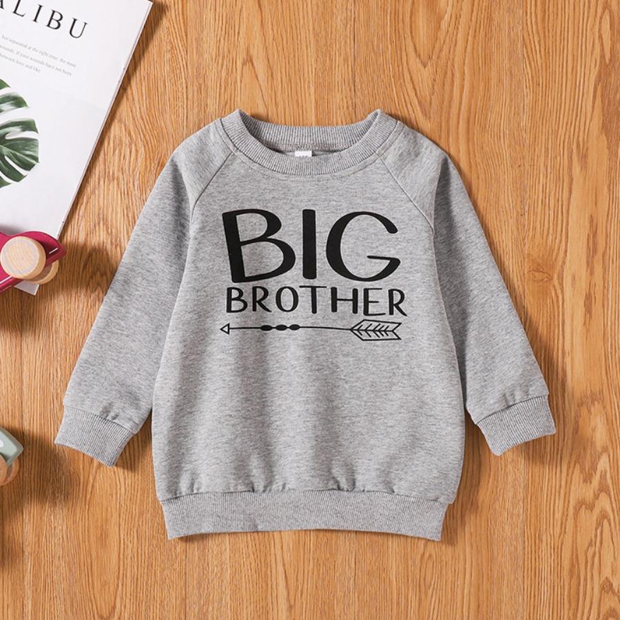 LW COTTON Boy Arrow Letter Print Sweatshirt, lovely, Boys Hoodies  - buy with discount