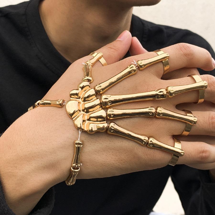 LW Men Metal Skulll Shape Jewelry, lovely, Men Jewelry  - buy with discount