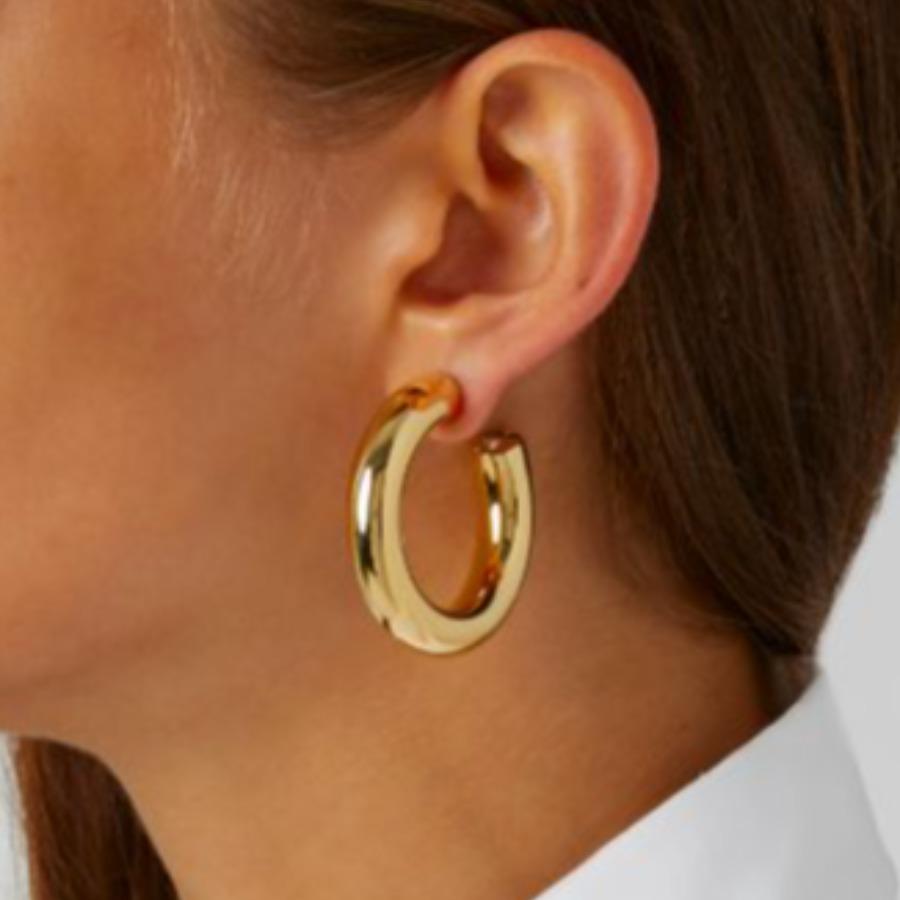 LW Metal Basic Geometric Earring